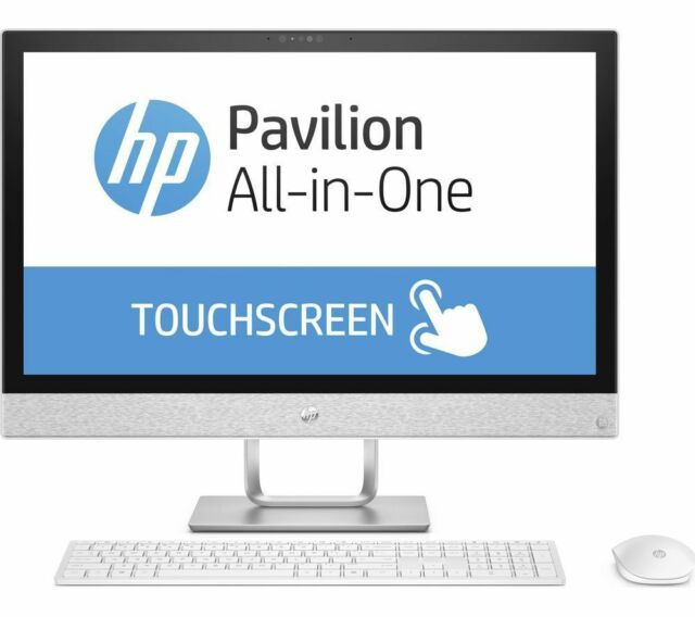 "HP 24-R100NA 23.8"" Touch All-In-One Intel Core i5+ upto 3.3GHz 2TB Windows 10 PC"