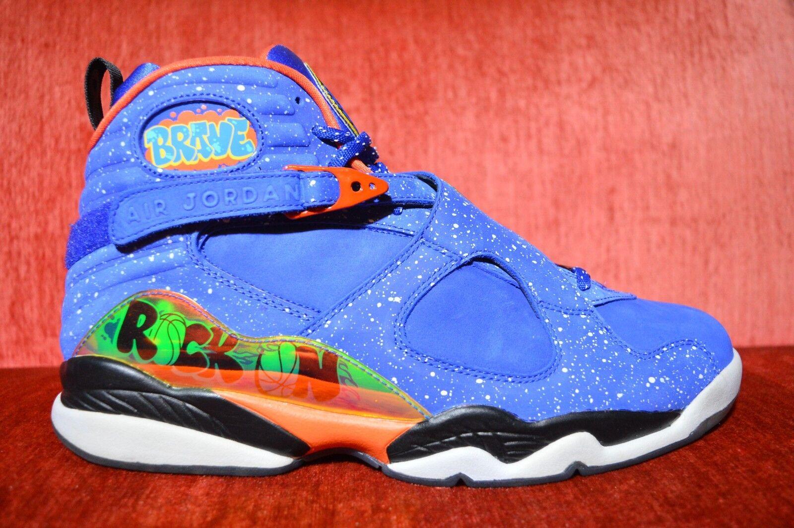 WORN 2X Nike AIR Jordan Retro 8 DB DOERNBECHER DB Size 11.5 VIII 2014 729893 480