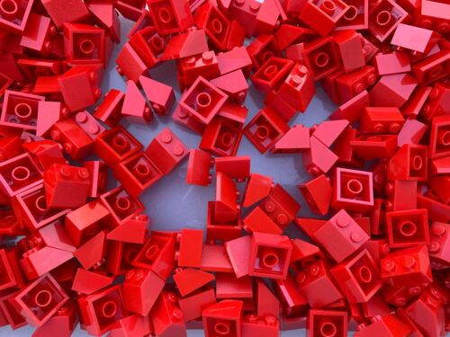 3039 NEW Red 2X2 Brick Slopes 25 Pieces Per Order LEGO