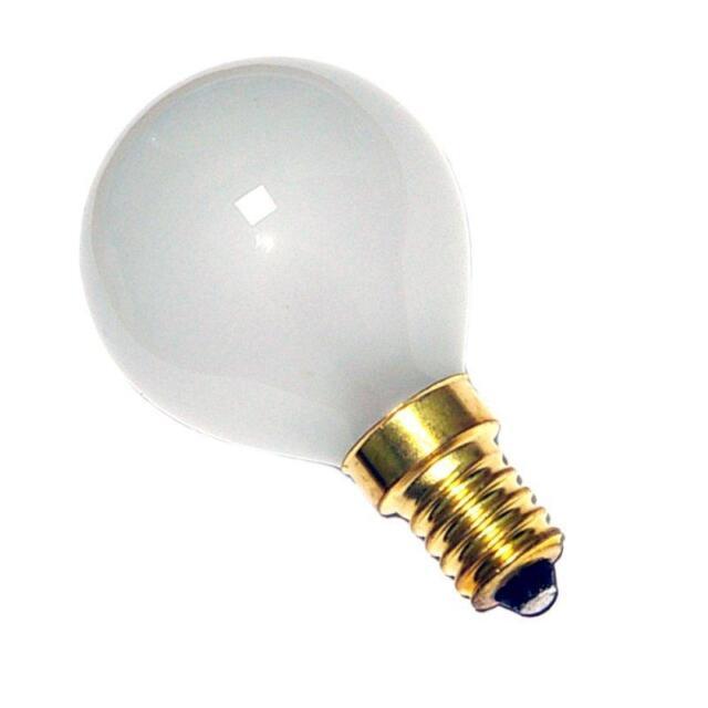 10 ampoules á incandescence 40w E14 Philips dépolies