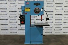 Doall 2013 V 20 Variable Speed Vertical Contour Band Saw With Blade Welder