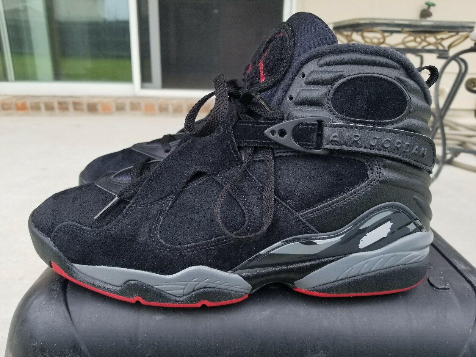 outlet store 52179 e0204 10 Size Cement Black Retro VIII 8 Jordan Air Nike ...