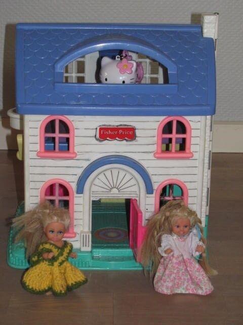 Dukkehus, Fold-ud dukkehus Fisher Price