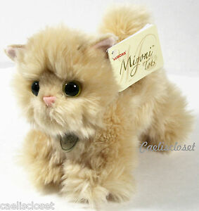 "Miyoni Tots APRICOT PERSIAN KITTEN 7"" Plush Fluffy Cat ..."