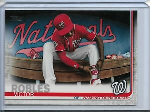 2019 Topps Series 2 Baseball Short Print Variation Victor Robles #402 Nationals