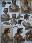 Stunning 3D A4 Paper Tole Tribal African Men NEW