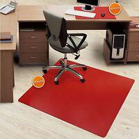 Bodenschutzmatte & Schreibtischauflage Schutz Für Boden Und Schreibtisch Rot