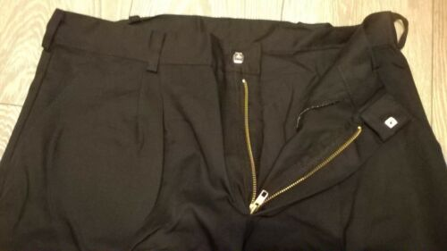 "mens dark Navy blue nearly black work NHS NEW trousers 36/"" waist Regular leg"
