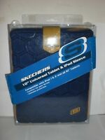 Blue Sketchers 10 Universal Tablet & Ipad Sleeve Compatible W Ipad 1 & 2 Padded