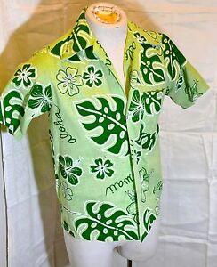 57076427 VINTAGE 1960'S YOUNG HAWAII HAWAIIAN SHIRT MENS SMALL HONOLULU | eBay