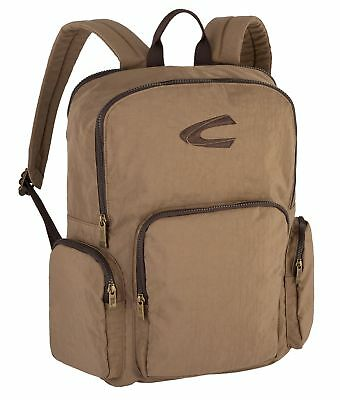 Bello Camel Active Journey Back Pack Zaino Borsa Sabbia Marrone Nuovo-mostra Il Titolo Originale