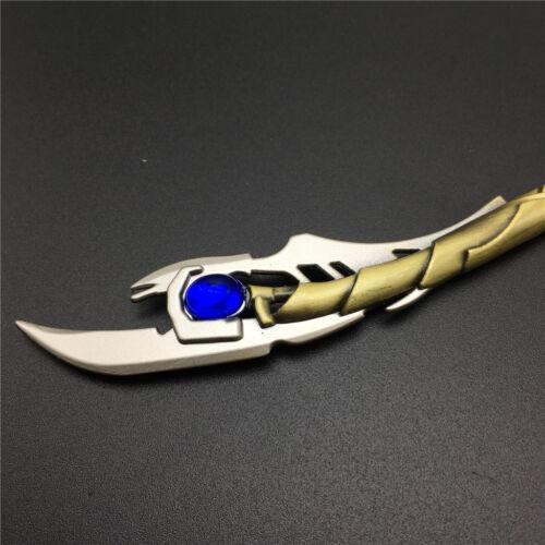 Avengers 4 Endgame Loki Keychain Loptr Chitauri scepter Keyring 15 cm