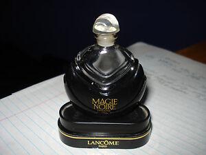 Lancomes Magie Noire Collectible 1/4floz Parfum Bottle Listing is for Bottle+jar