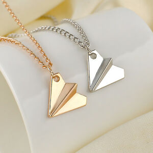 One direction 1d harry styles paper airplane silver gold charms image is loading one direction 1d harry styles paper airplane silver mozeypictures Images