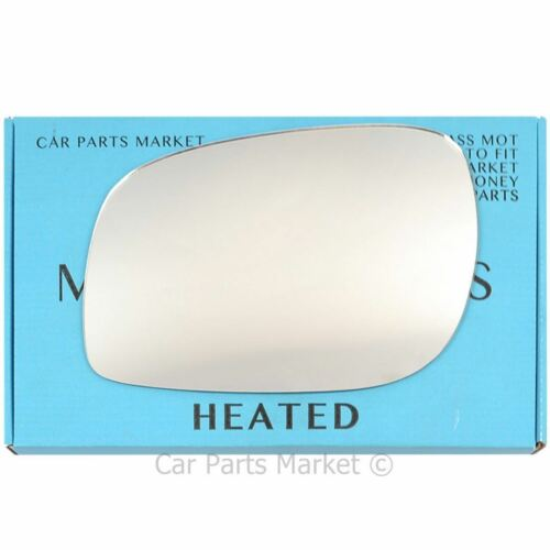 Left Side Wing Door Mirror Glass for Land Rover Freelander 1997-06 Heated