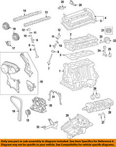 ford oem 11 18 fiesta engine timing belt be8z6268c ebay rh ebay com ford fiesta mk6 engine diagram ford fiesta engine diagram zetec