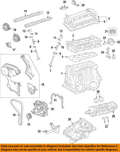 FORD OEM 11-18 Fiesta-Engine Cylinder Head Gasket BE8Z6051A