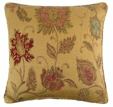 """MERRY CHRISTMAS TREE RED COTTON TAPESTRY CUSHION COVER 18/"""" 45CM"""