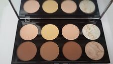 REVOLUTION MAKEUP  Contour Palette Highlighting Contouring 8 shades of Powder