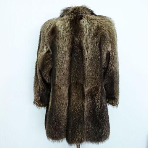 Hoffen De Pelliccia Marmotta à femme Ankers 7965 48 Art Vintage It Cappotto Tg BRwtnqg0x