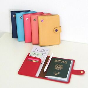 Reise-Brieftasche-Tasche-Wallet-Reisepass-Etui-Organizer-Reisemappe