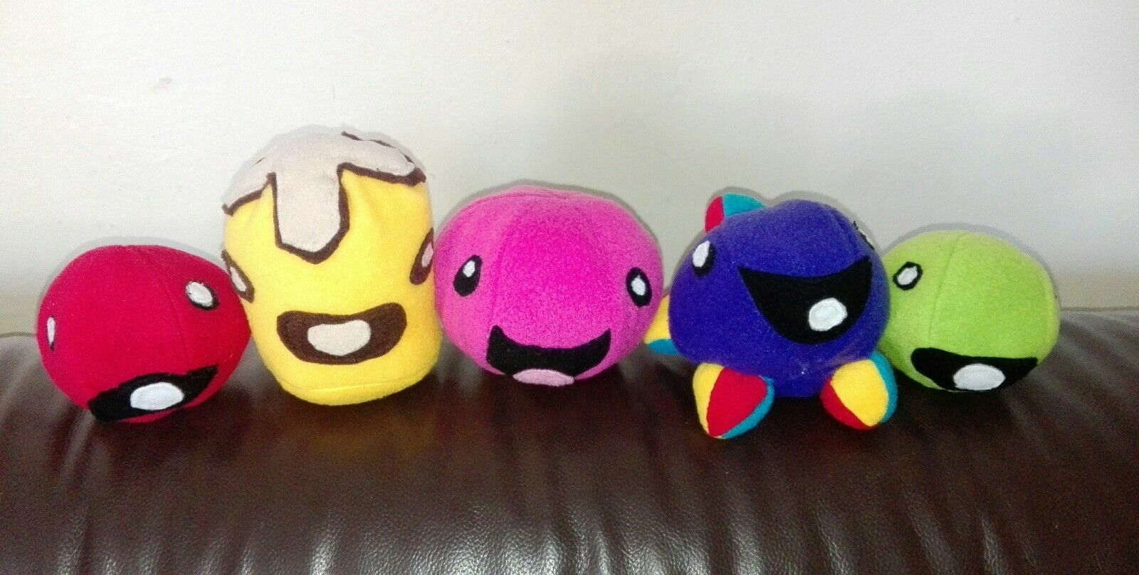 5 SLIME RANCHERS Soft toys 5inch
