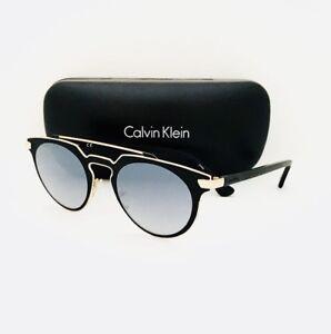 69b3dd2cf5ef0 New Calvin Klein Sunglasses CK 2147 S 001 Black 48•23•140 With Case ...