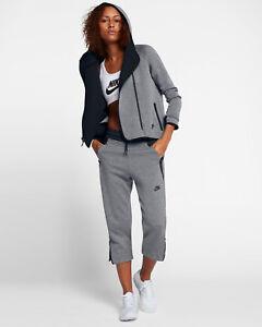 L complète Gris à à Sweat Fleece Nike Tech pour Nouveau glissière capuche Femme Sportswear UMGzqpVS