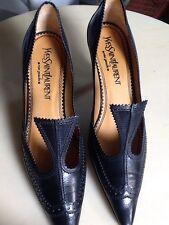 Ysl Yves Saint Laurent Schuhe Gr. 37 Top Zustand Rive Gauche 1a Sammler Exklusiv