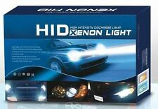 HID Xenon Kit For All Cars High / Low Beam, H4 6000K 55W Bulbs With Slim Ballast