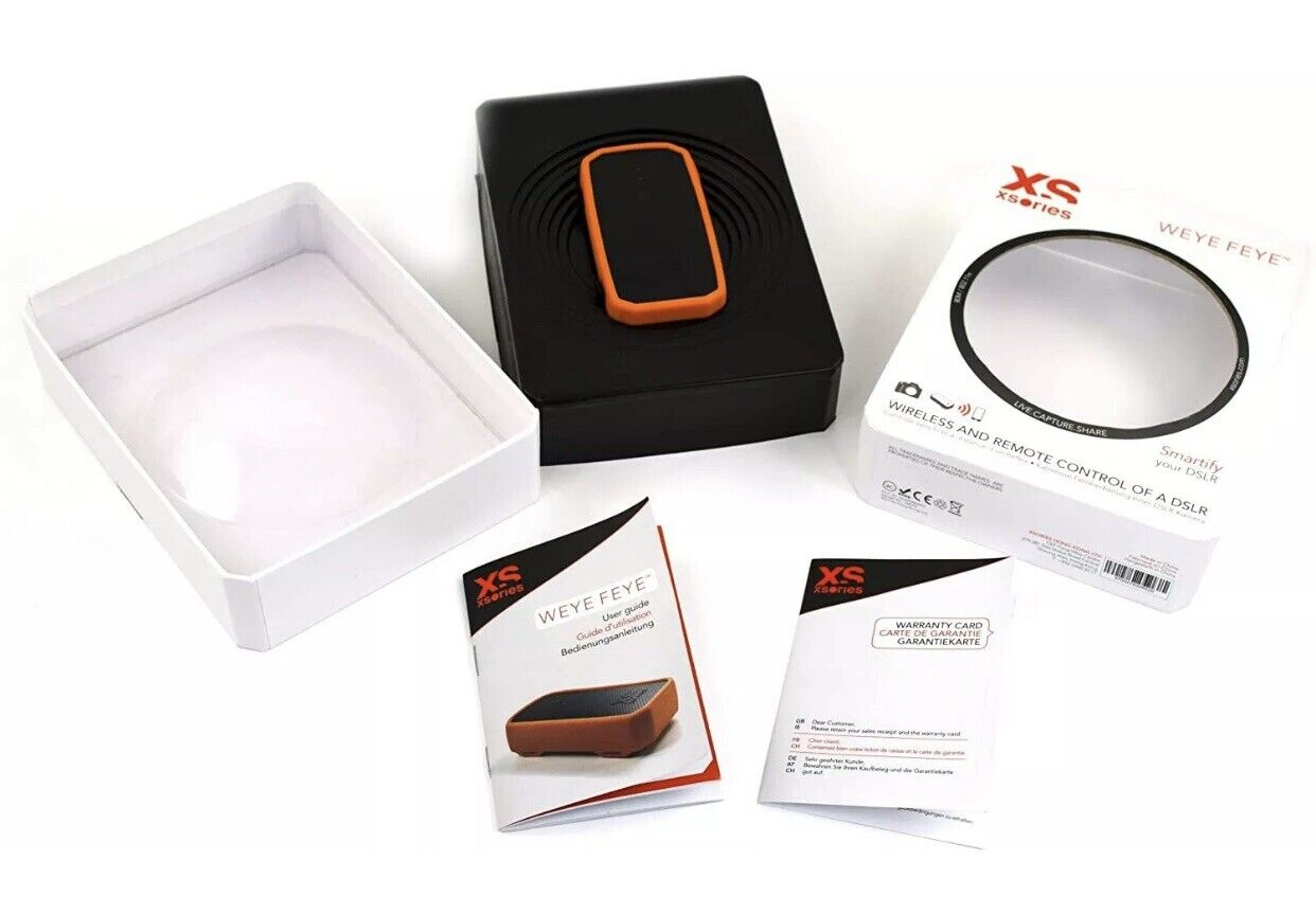 Xsories Weye Feye Wireless and Remote Control of a DSLR Camera - Brand New