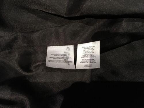 Veste Jones taille en New moyenne pour York cuir Signature noir femmes Rq1RZaAT