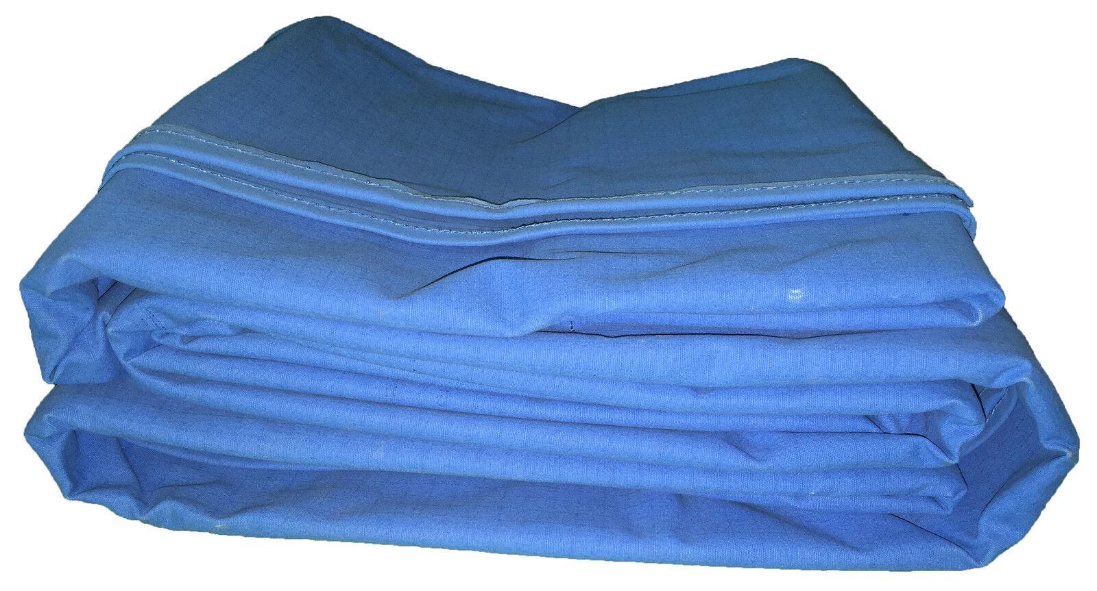 Canvas Tarpaulin 4M x 4M Heavy Duty 13' x 13' Tarp Poly Cotton Best Quality