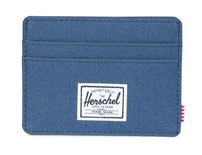 Indipendente Herschel Charlie Rfid Wallet Portafoglio Navy Blu Nuovo-mostra Il Titolo Originale