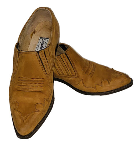 Seychelles Tan Leather Western Cowboy Ankle Boot s