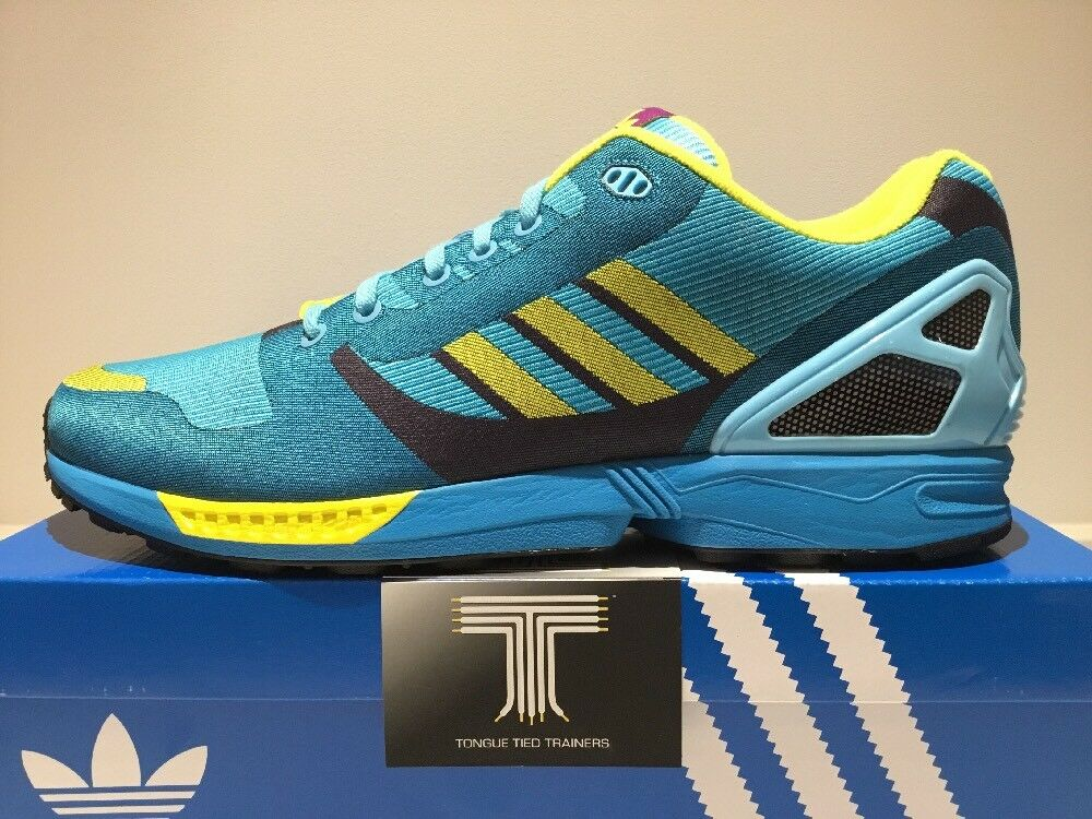 Adidas ZX Flux Weave 8000 OG Aqua ~ lumière Aqua OG M21788 ~ Taille 4178e4