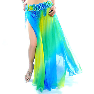C212 Bellissima Danza Del Ventre Costume Gonna Con Sfumature Belly Dance Skirt- Prestazioni Affidabili