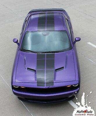 Racing Rally Stripe Hood Roof Rear Decal Vinyl Graphic RT SX 13-2016 Dodge Dart