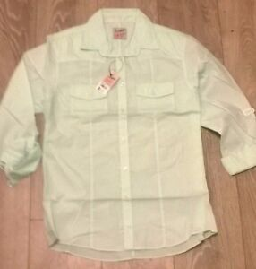 TOPMAN-Mens-light-green-trendy-smart-shirt-Size-S-M-L-NEW-TOPSHOP