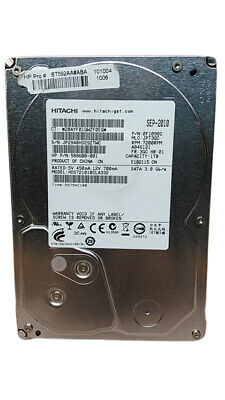 "Hitachi DeskStar 7K1000.C HDS721010CLA332 1TB 3.5/"" SATA II Hard Drive"