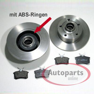 ABSring Bremsen Set vorne hinten Inkl Radlager für alle Audi A4 B5