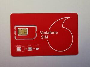 Vodafone Prepaid Sim Karte - 0€ Guthaben - Startklar   eBay