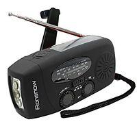 Survival Kit Emergency Disaster Flashlight Radio Gear Solar Powered Tool Kit