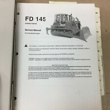 Fiat Allis Fd145 Crawler Tractor Bulldozer Service Shop Repair Manual Ts Guide