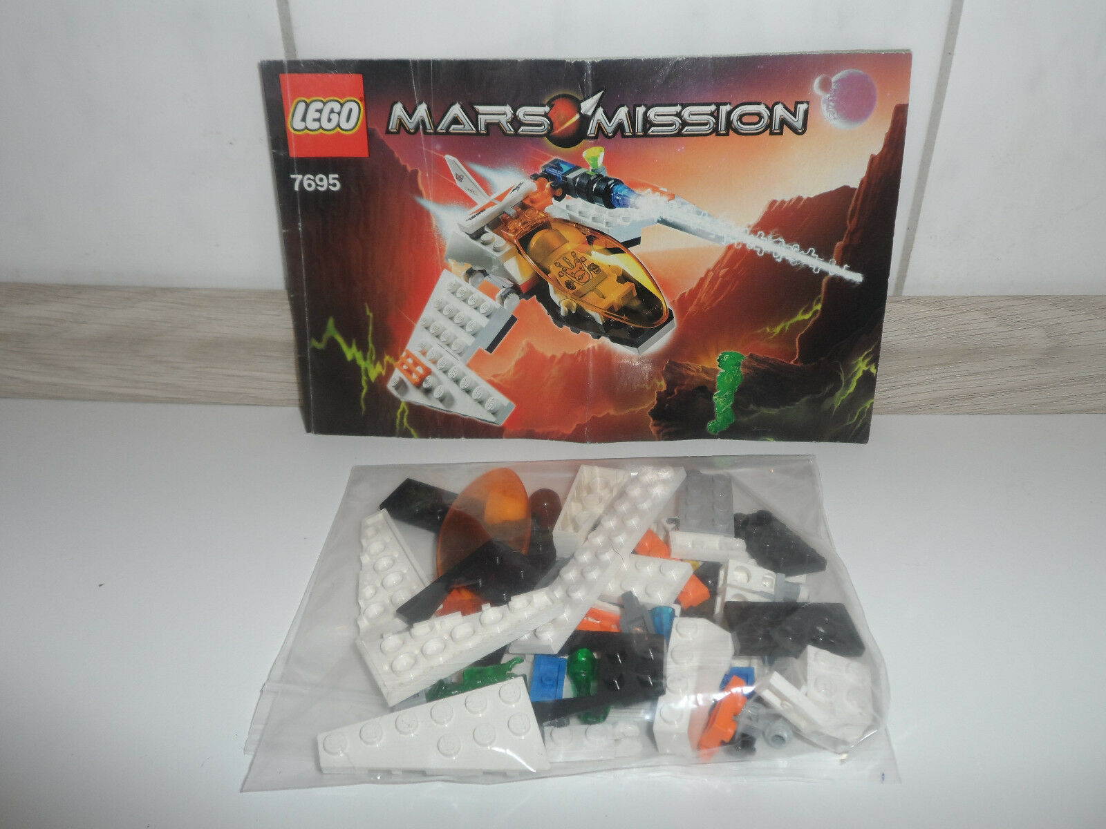 LEGO Set 7695 Mars missione Astro Fighter SPACE ASTRONAVE