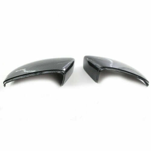 Carbon Fiber Side Door Mirror Cover Cap for VW BEETLE JETTA 12-17 PASSAT 09-17 E