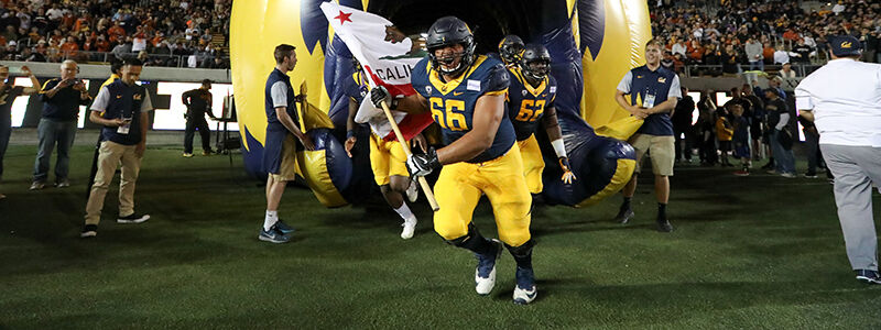 USC Trojans at Cal Bears Football