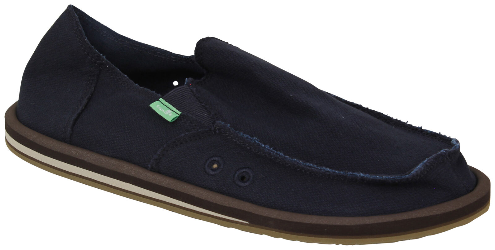 Sanuk Hemp Sidewalk Surfer - Navy - New