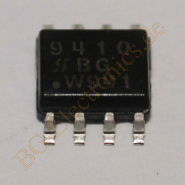 1 x si9410dy N-Channel 30-v (D-S) MOSFET Siliconix so-8 1pcs