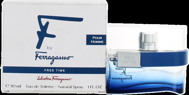 F Free Time By Salvatore Ferragamo For Men EDT Cologne Spray 1oz